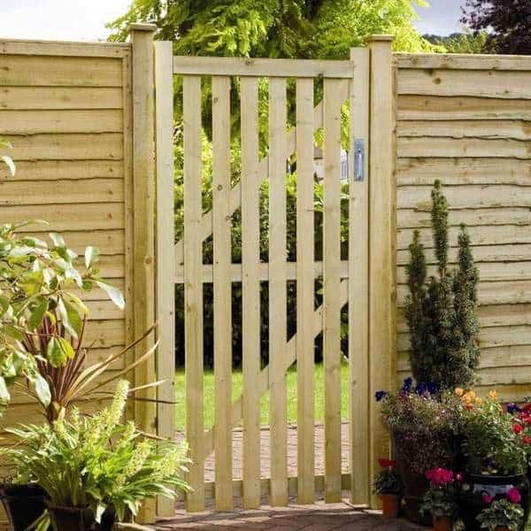 Garden Fence Gates