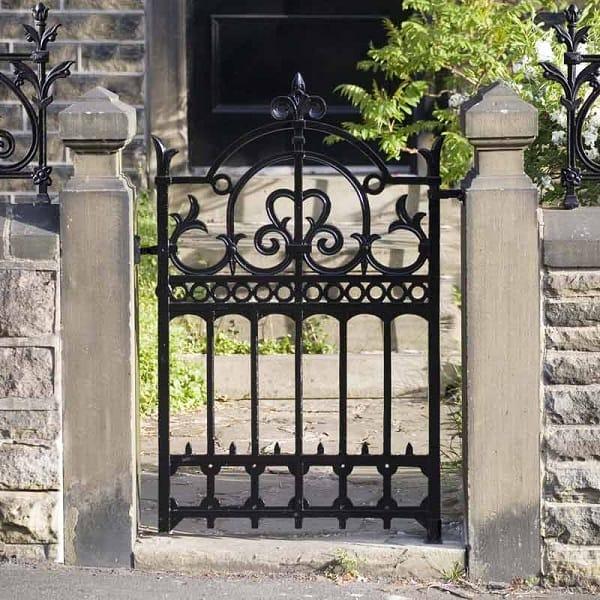 Iron Garden Gate Designs