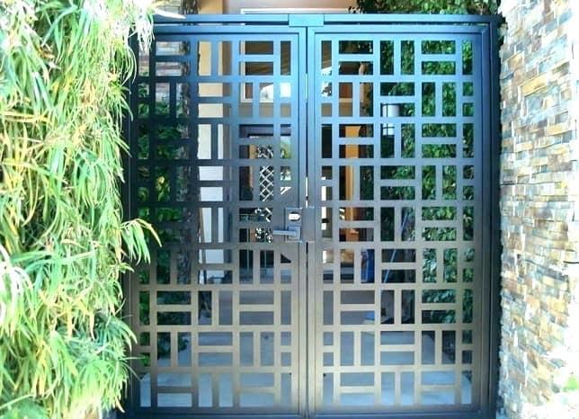 Contemporary Garden Gate Designs