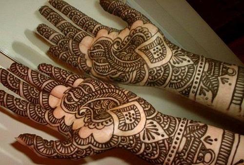 Graphical Marathi Mehndi Designs