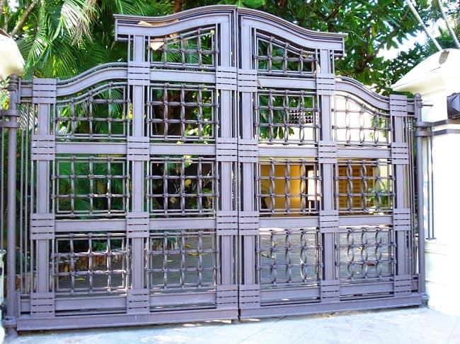 Decorative Wrought Iron Gate Designs