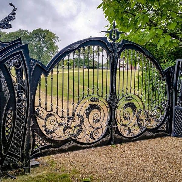 Antique Wrought Iron Gate Designs