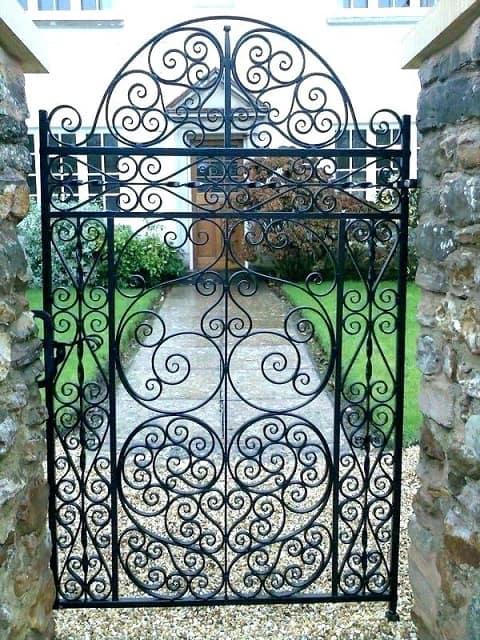 Ornamental Wrought Iron Gates