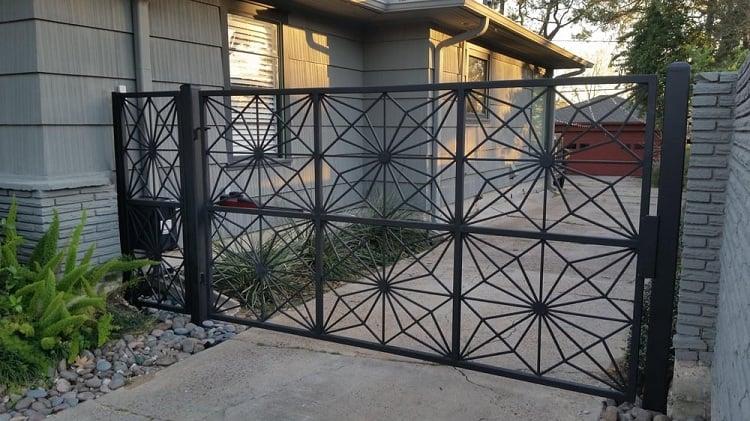Contemporary Wrought Iron Gate Designs
