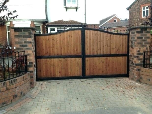 Rustic Wrought Iron Gates
