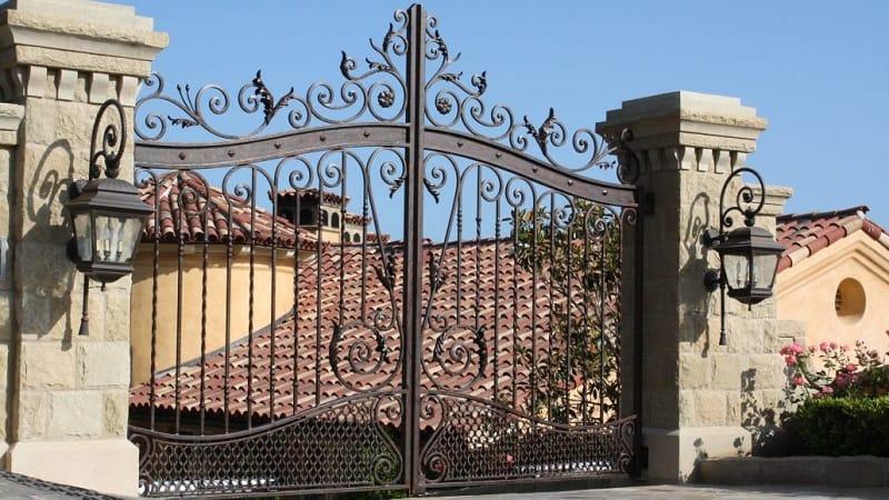 Beautiful Wrought Iron Gate Designs