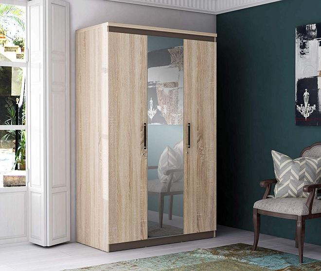 Simple 3 Door Wardrobe Designs