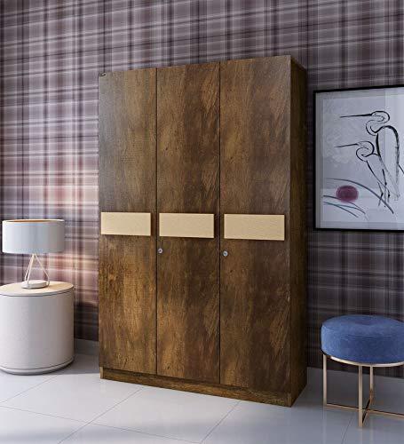 wardrobe with three doors