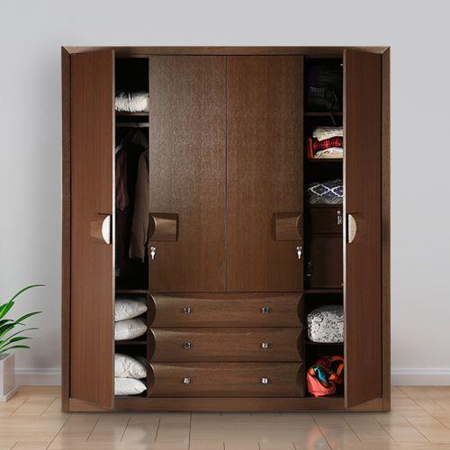 4 door wardrobe closet