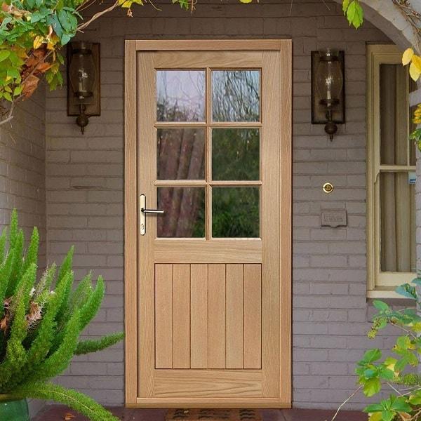 Wooden Back Doors