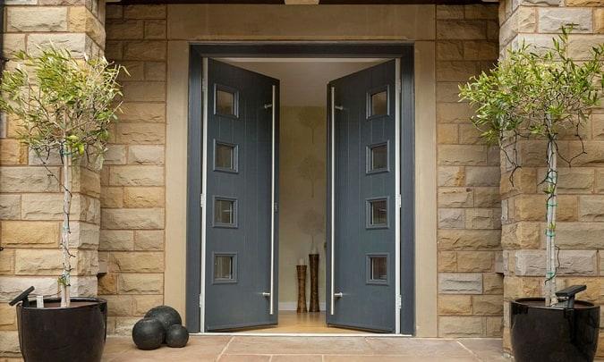 Contemporary Back Door Designs