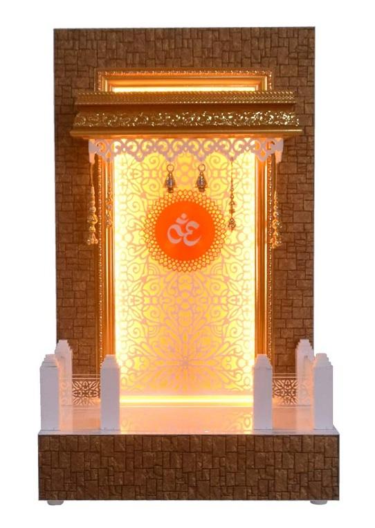 pooja door bell design
