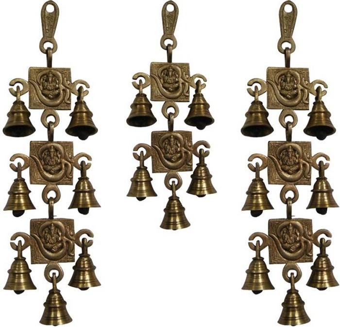 bells in pooja room door