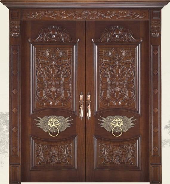 Front Door Frame Designs