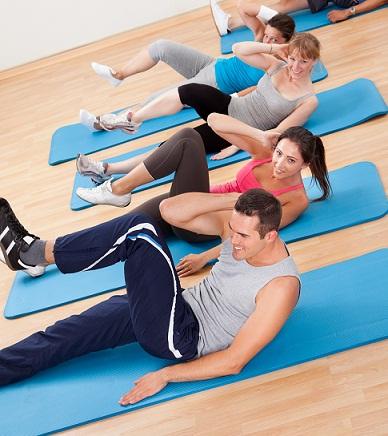 exercises for flat tummy