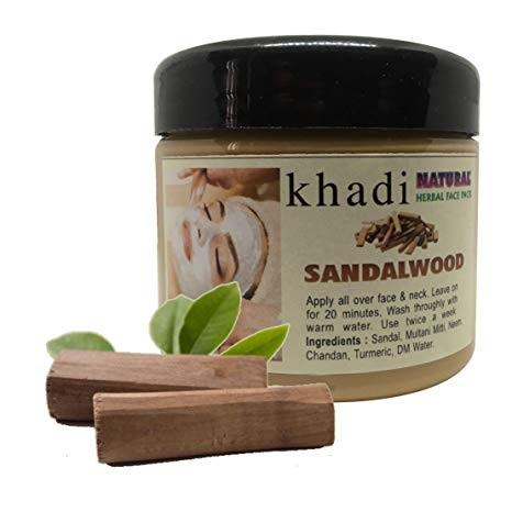 The EnQ Khadi Natural Herbal Sandalwood Face Pack