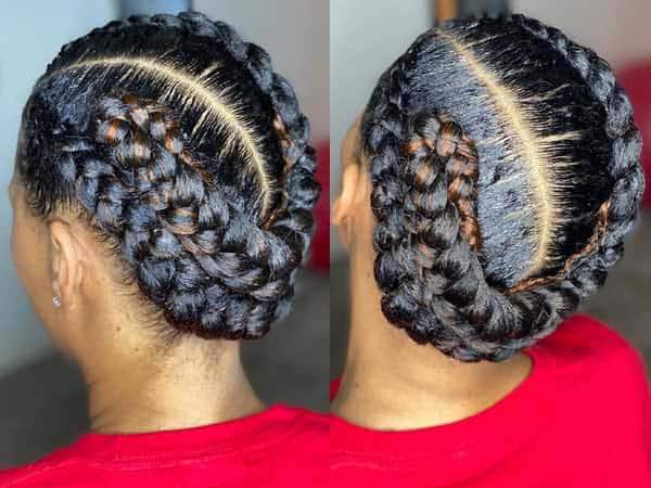 Goddess Braid Hairstyles 9
