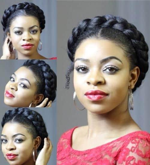 Goddess Braid Hairstyles 4