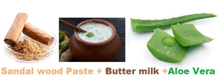 Aloe Vera, Butter Milk