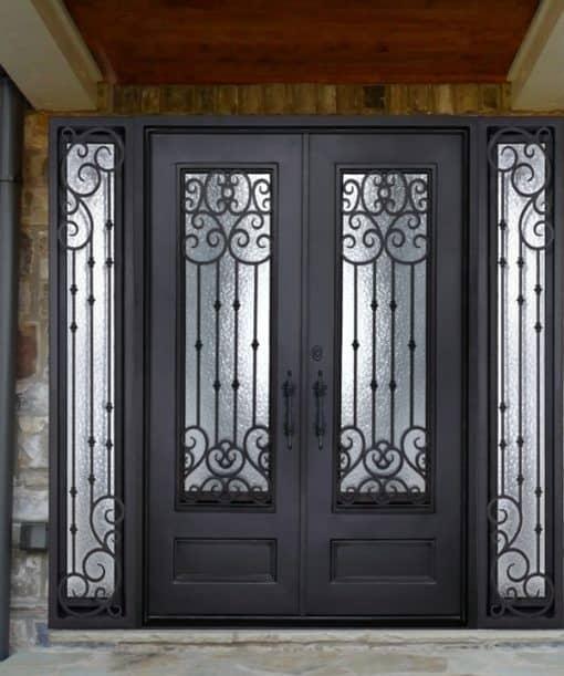 Ornamental Iron Doors