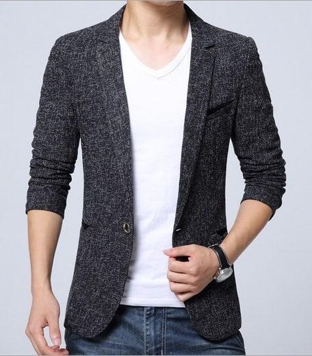 Casual Tweed Blazer
