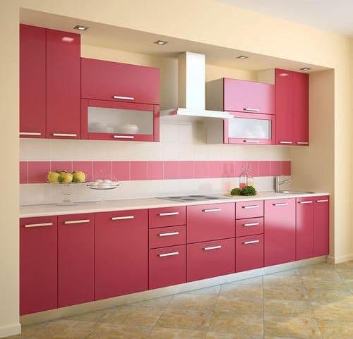 Kitchen PVC Door Designs
