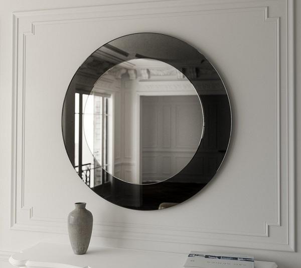 tiny round mirrors
