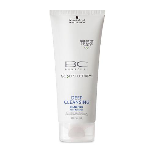 Schwarzkopf Bonacure scalp therapy deep cleansing shampoo
