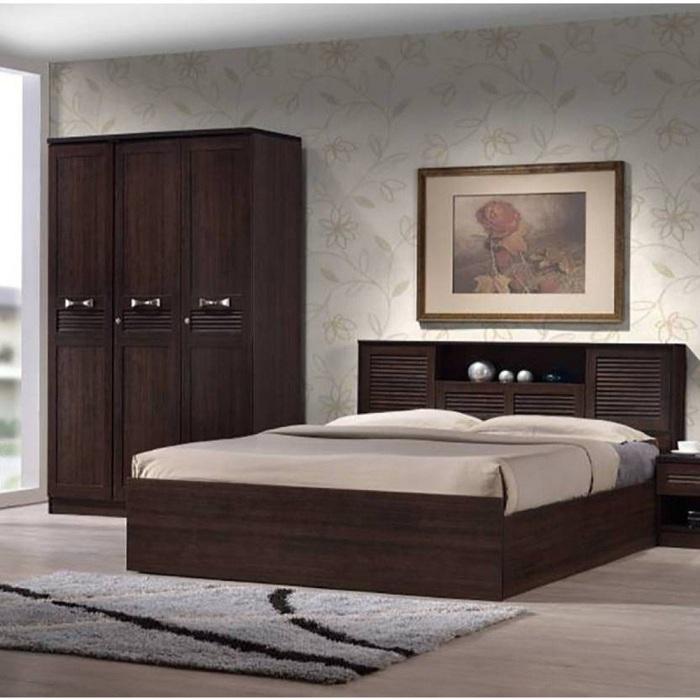 Wood Box Storage Bed