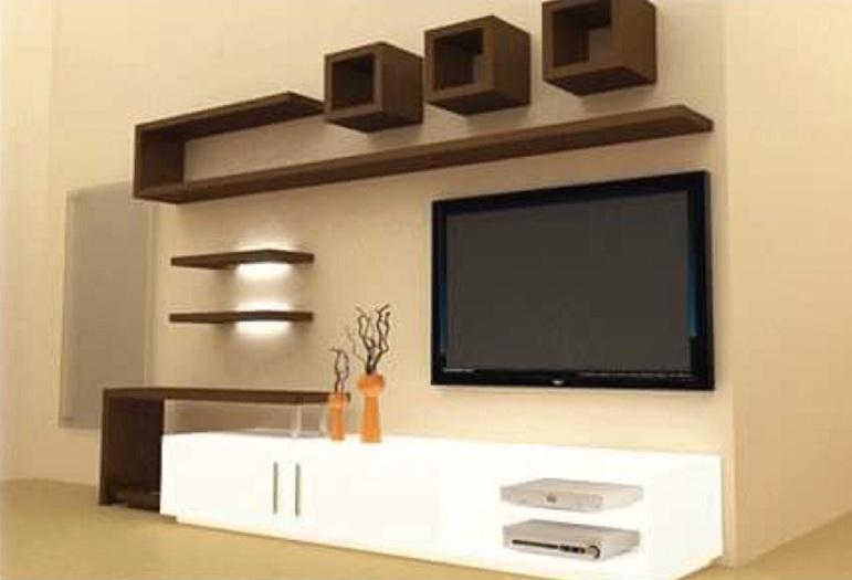 modern TV Showcase Designs