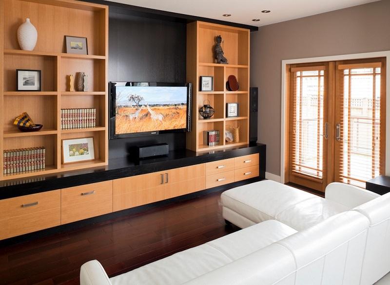 Simple TV Showcase Designs