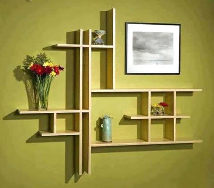 Simple Wall Showcase Designs