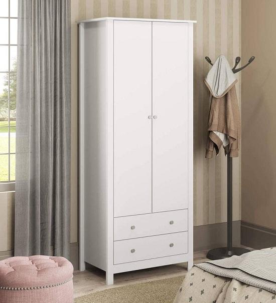 Simple White Wardrobe Designs