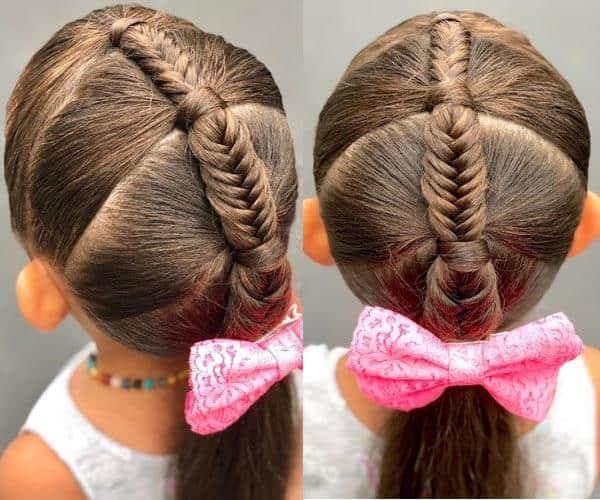 Fishtail Braid for Girls
