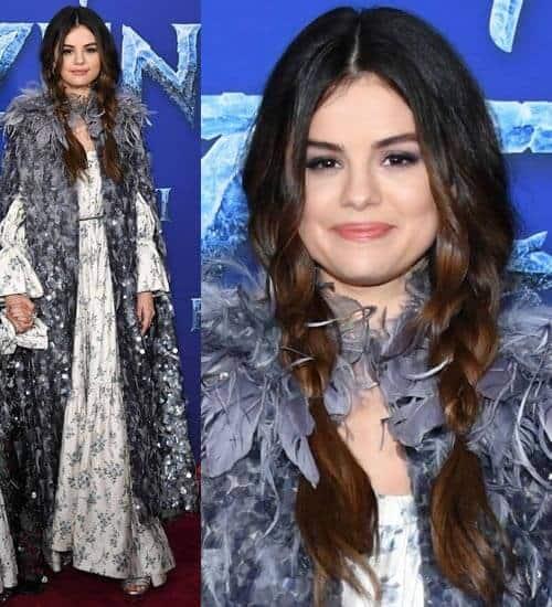 Selena Gomez's Red Carpet Braids