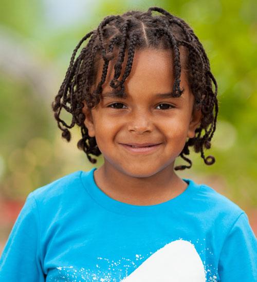 African Inspired Boy Braids