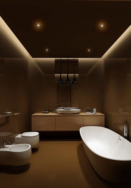 Bathroom Ceiling Decoration Idea