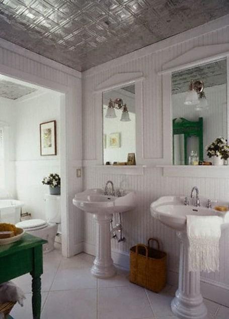 Bathroom Ceiling Tiles Design