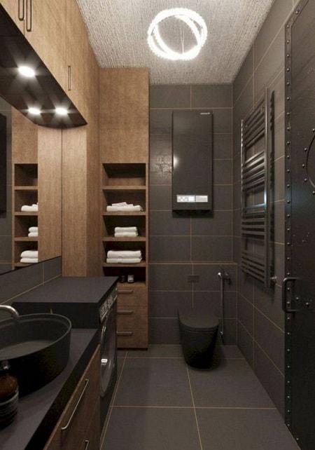 High Ceiling Bathroom Design