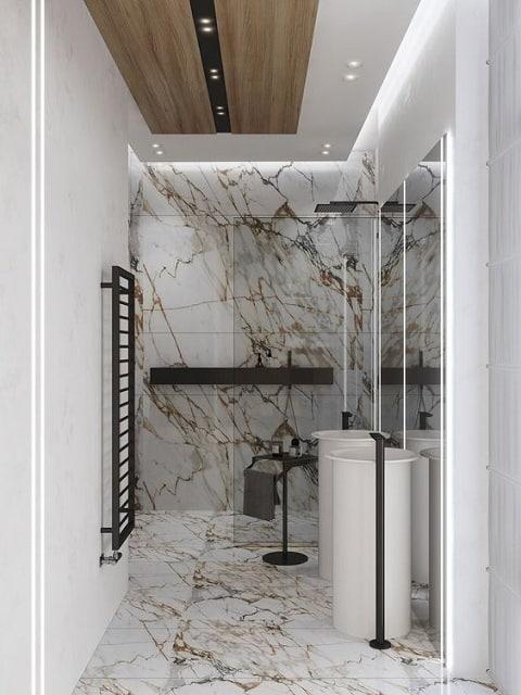 Washroom Ceiling Design
