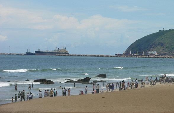 Ramakrishna Beach Vizag Andhra Pradesh