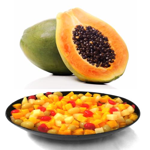 Papaya And Fruit Cocktail Face Pack