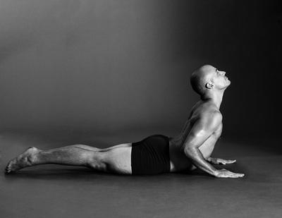 hot yoga cobra pose