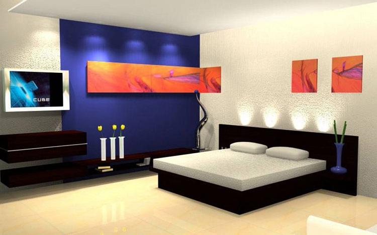 Modern Showcase Designs for Bedroom
