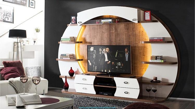 showcase design for bedroom1