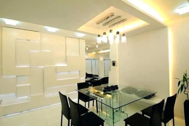 Pop False Ceiling Designs For Dining Room