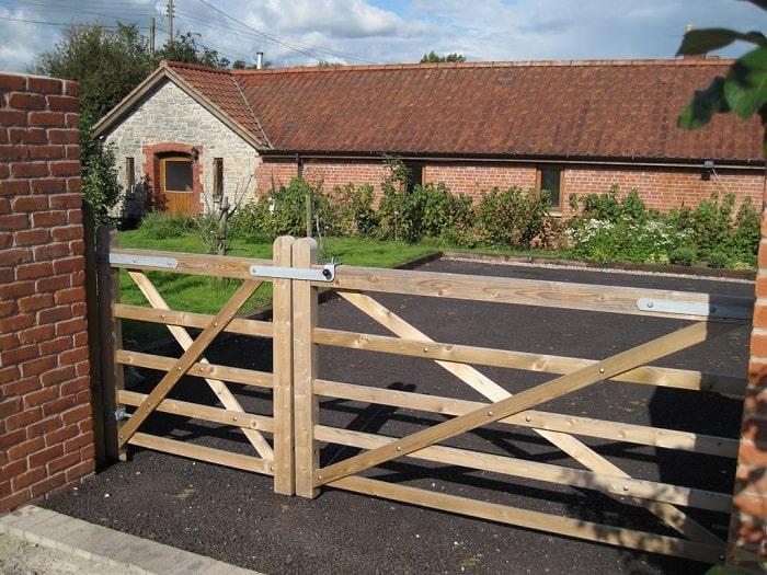 Double Farm Gates
