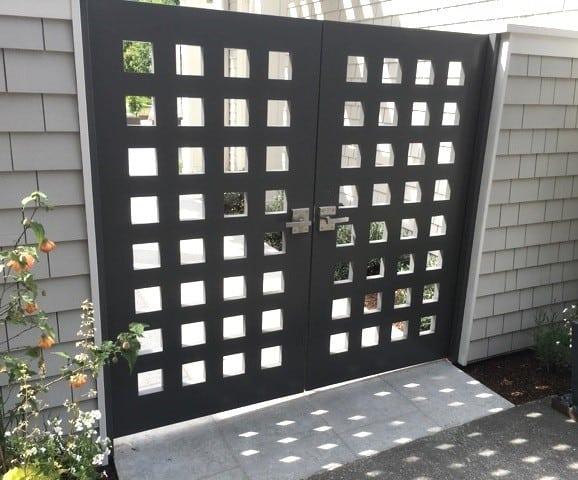 Steel Double Gate