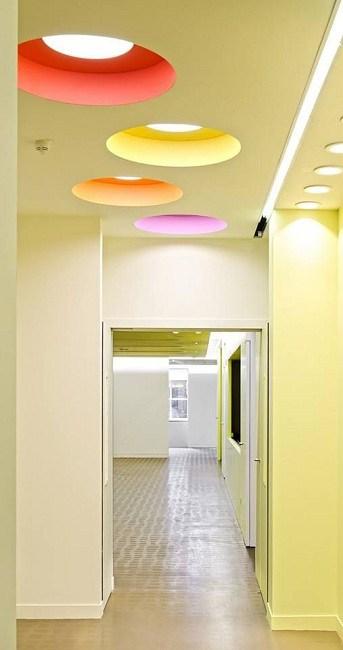 Pop Ceiling Color Designs
