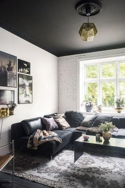 False Ceiling Colours for Living Room